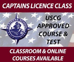 Captains License Classes