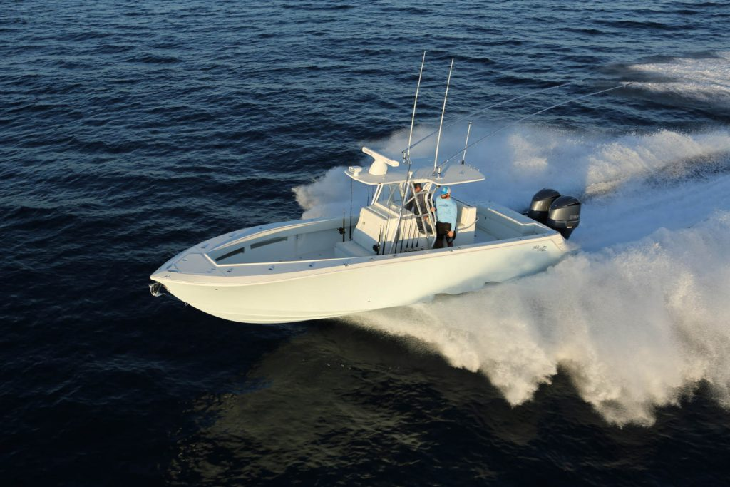 The SeaVee 340Z On Boat Connection